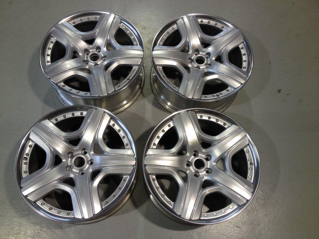 Restored Bentley Alloy Wheels Leicester