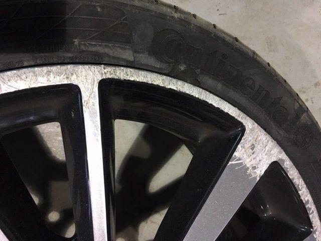 Nissan Qashqai Alloy Wheel Repair Trim Technique