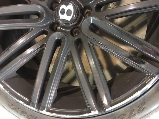 curbed alloy repair