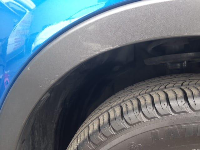 plastic wheel arch cover hinckley trim technique