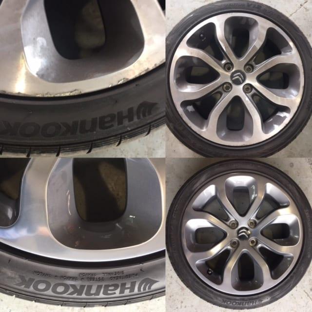 Citroen Ds3 Alloy Wheel Repair Trim Technique