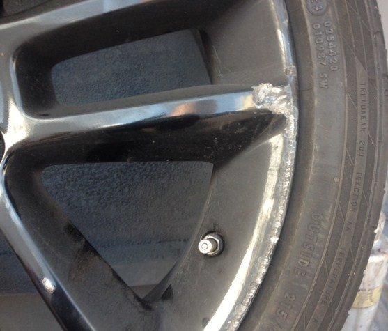 Leather Sofa Repairs In Coventry: Vauxhall Black Gloss Wheel Repair