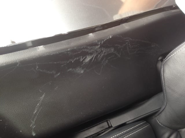 dog damaged dashboard leicestershire trim technique. Black Bedroom Furniture Sets. Home Design Ideas