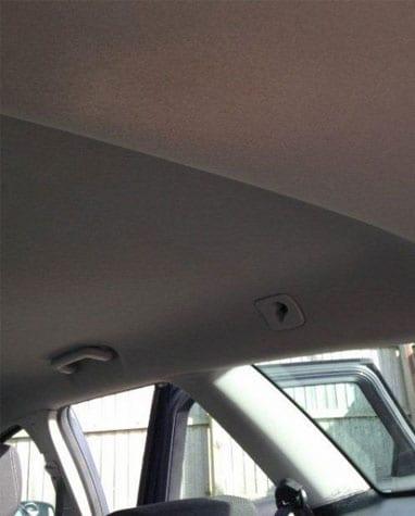 upholstery repairs to car interiors