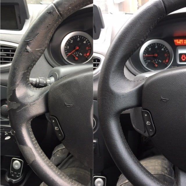 Steering Wheel repair, Renault Clio in Coventry - Trim Technique